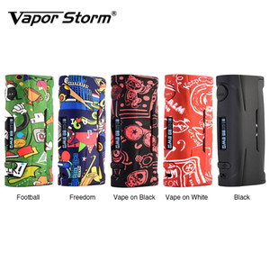 80W Vapor Storm Baby VW TC Box Mod with 0.91 Inch Screen & 10s Continuous Vape Time ABS Plastic Material Mod VS ECO