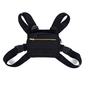 Wholesale TOP Mini Men Chest Rig Streetwear Outdoor Sports Waist Bag Climbing Shoulder Bag Phone Money Belt Chest