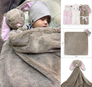 Wholesale Baby Animal Blanket Baby Bedding Winter Birthday Gift Newborn Soft Warm Coral Fleece Plush Animal Toy