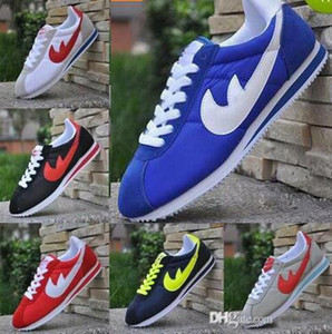 Wholesale FREE SHIPPING size 36-44 gazelle brands men and women cortez shoes leisure Shells shoes Leather fashion outdoor Sneakers shoes