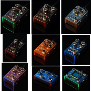 Wholesale New JOYO R Series electronic Guitar Effective Pedal of TAICHI TAUREN High Gain UZI ZIP AMP MAXIMUM O.M.B AQUARIUS XVI