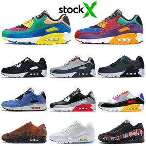 Wholesale stock x running shoes for men women Be True Viotech Jelly Laser Fuchsia Mixtape Mars Landing Infrared mens trainers Sports Sneakers