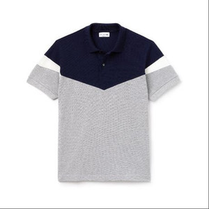 Wholesale 2019 Mens Designer Polo Shirts Summer Brand Crocodile Fashion Shirts Hot Sale High Quality with Colors Size M XL
