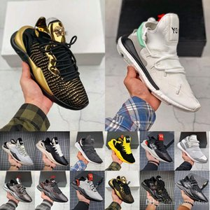 Wholesale Mens trainers Y3 Running Shoes Kaiwa Chunky Sneakers Kanye Mens Women Casual Sports Outdoor Luxurious Y Kusari II Leathe Boots Sneakers