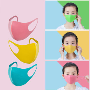 Wholesale Child Face Masks PM2 For Kids Men Women Set Anti Dustproof Smoke Pollution Masks with Earloop Washable Respirator Mask anti virus