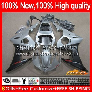 Wholesale r6 silver for sale - Group buy Body Gifts For YAMAHA YZF600 glossy silver YZF R6 CC NO YZF YZF R6 YZF R YZFR6 Fairings Kit