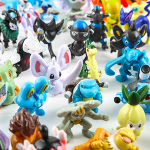 Wholesale 144 cm Pikachu Action Figure Toys Japanese Cartoon Anime Mini Collections Birthday Gifts Cartoon Doll Toy