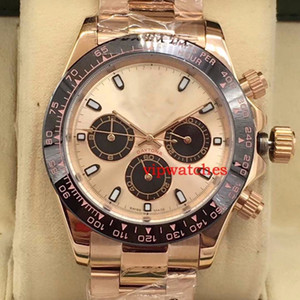 AAA New Brand Mens Steel Strap Wristwatch Automatic Watch Rose Gold Luxury Reloj Master DIAMOND Watches Mechanical Wristwatches