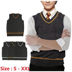 Wholesale Harry Potter With Sweater Charming Handsome v Neck Sweater Ordinary Jk Uniform Sweater Vest Cute Fashion Men And