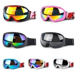 Wholesale black red ski mask resale online - 2019 Men Women Brand Ski Goggles Double Layers Anti fog Skiing Glasses Snow Googles Snowboard Ski Mask Sunglasses Winter Eyewear