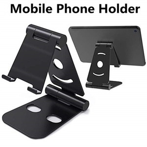 Wholesale Tri fold Mobile Phone Holder Mini lazy phone holder chuck bracket general mobile phones navigation car holder Material life plastic
