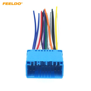 Wholesale FEELDO Car Aftermarket Audio Radio Stereo Wiring Harness For HONDA ACURA ACCORD CIVIC CRV Installation