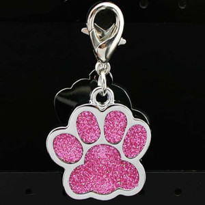 ingrosso tag del cane laser-Accessori per colletto Pet Personalizzato Multi Colori cm Dog Tags Dog Laser Inciso Inciso Aluminium Dog Cat Cat Pet Decoration Tag DH0282 T03