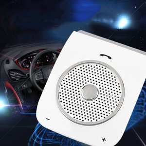 Wholesale SAIEOSYU Auto Sunvisor Speakerphone Bluetooth Hands free Stereo Bass Wireless aux Bluetooth Handsfree Car Kit For Smart Phone