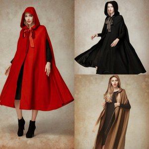 Chic Women Designer Winter Coats Cloak with Hood Faux Fur Bridal Jackets Wrap Plus Size Capes Custom Made