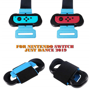 A pair Dance wristband for Nintendo Switch Joy Cons Controller Game Just Dance 2019 wristband Adjustable Strap Joy-Cons gamepads band on Sale