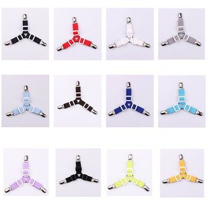 Wholesale 4pcs apply sheets bed quilt fastener clip bracket protective sleeve holder