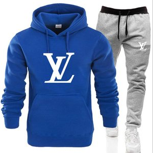 Wholesale Mens set sweatsuit Designer Tracksuit Men Women hoodies pants Mens Clothing Sweatshirt Pullover Casual Tennis Sport Tracksuits Sweat Suits