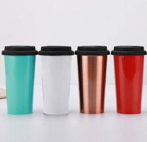 Wholesale 17oz Wine Tumbler Wine Glass Double Wall Stainless Steel Vacuum Insulated Bottle Car Mugs Travel Beer Coffee Mugs Thermos Flask Car Mugs