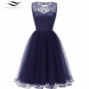 Wholesale Short Prom Dresses Sexy Backless Zip Back Prom Gown Formal Dress Women Occasion Party Dresses Robe De Soiree