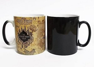 Wholesale Creative Gifts Magic Mugs Harry Hot Drink Color Changing Mug Potter Marauders Map Mischief Managed Wine Tea Cup Q190525