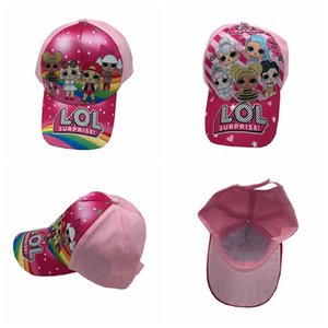 hot Children Baseball Cap Kids Boys Girls Cartoon printing peaked hat adjustable cap 2 colors MMA2243