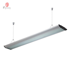 Wholesale reflector lights for sale - Group buy LED Long Aluminum Hanging Lights Rectangle Modern Reflector T5 Tube Light Office Fitness Library luminous Decoration Dynasty Lighting