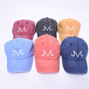 Wholesale Brand Majin Buu Snapback Cotton Washed Baseball Cap For Men Women Hip Hop Dad golf caps outdoor Visor Truck Driver Dragon Ball hats