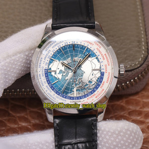 ingrosso emisfero-8F V2 Versione Geophysic Universal Time Northern Hemisphere Mappa Completare Cal Automatic Mens Watch Case in acciaio Designer Designer orologi