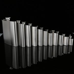 Stainless Steel Hip Flasks1oz 3oz 4oz 5oz 6oz 7oz 8oz 9oz 10oz Whisky Stoup Outdoor Portable Liquor Wine A018