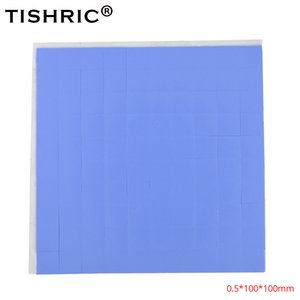 Wholesale TISHRIC Thermal Pads mm GPU CPU Heatsink Cooling Conductive Silicone Pad For Fan PC computer heat sink Cooler