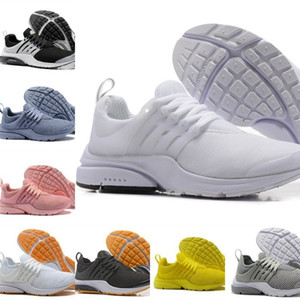 Wholesale High Quality New Presto Men Women Run Shoes Air Cushion Prestos Ultra BR QS Tp Yellow Black White Oreo Sports Fashion Fly Sneakers