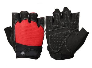 Wholesale Fitness Instrument Men Exercise Training Wrist Slip proof and Air permeable Half finger Horizontal Bar Palm Protector Lead up Glove Women