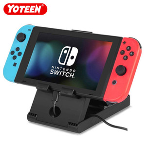 Yoteen Foldable Desktop Stand For Nintendo Switch Console Holder Adjustable Angle Base Bracket Portable