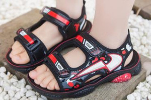 Children's summer sandals, boys'beach children's casual sandals, boys' and students'shoes on Sale