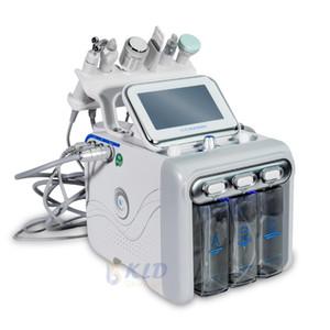 6 in 1 Hydrogen Oxygen Dermabrasion Machine Vacuum Peeling Diamond Dermabration Facial Skin Rejuvenation Cleaning Blackhead Removal