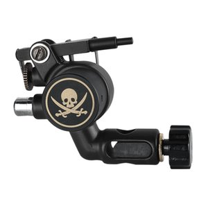 Wholesale 2019 New Professional Tattoo Machine Skull Alloy Rotary Tattoo Machine Strong Power Motor Permanent Makeup Machine For Body Art