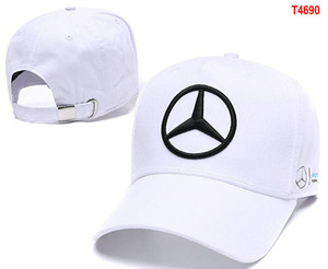 Wholesale hot Sale Mercedes Benz cap bone gorras Snapback Hat F1 Champion Racing Sports AMG Automobile Trucker Men Adjustable Golf Cap Sun Hat 12