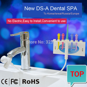 Factory Wholesale Home Bathroom Portable Dental SPA Flosser Faucet Water No Electric Oral Irrigator teeth cleaner waterpick