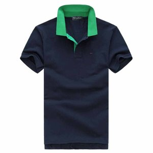 Wholesale 2019 Plus G XL Size eden Embroidery Polo Shirts Men meduse Fashion Design short Sleeves brand Stretch Polos Top sale park t shirt