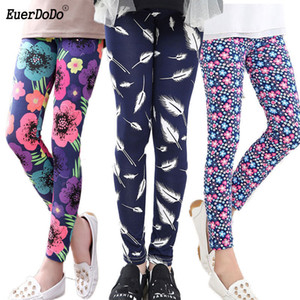Wholesale Flower Girls Leggings Pencil Pants For Girl Autumn Kids Pants Teenager 12 14 Years Children Trousers
