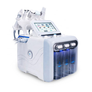 Wholesale facial microdermabrasion for sale - Group buy 6 IN Hydra Facial Machine RF skin rejuvenaiton Microdermabrasion Hydro Dermabrasion Bio lifting wrinkle removal hydrafacial Spa Machine