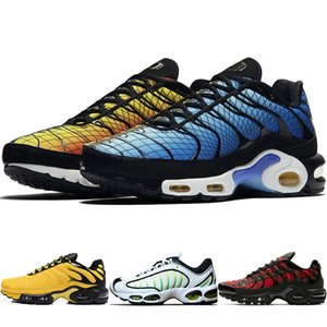 Wholesale 2019 New Designer Mercuial TPlus N OG Ultra SE Pack Mens Running Shoes Male Greedy Sports Run Trainers Fashion Black White Women Sneakers