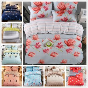Wholesale Flower Floral Pattern Bedding Set Adult Kids Child Soft Bed Linen Single Full Queen King Size Quilt Duvet Cover x230