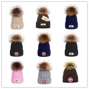 Top Sale CANADA brand BEANIE men knitted hat classical sports skull caps women casual outdoor GOOSE beanies on Sale