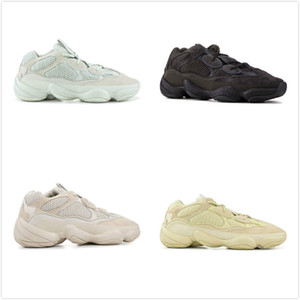 2019 500s Wave Runner 500 Blush Desert Rat Super Moon Yellow Run Casual Shoes Kanye West Designer Mens Women Sneaker Casual Shoes