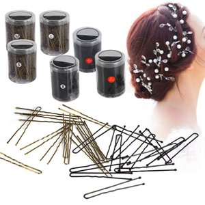 Wholesale 300Pcs U Shape Hair Clips For Women Bobby Pins Hair Pins Barrette Accessories Clip Studs Pro Metal Pince Cheveux G0310