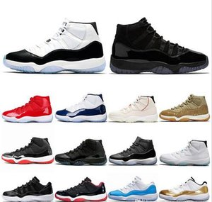 11 11s Basketball Shoes Concord 45 Platinum Tint Cap and Gown Mens Women UNC Gym Red Gamma Blue Lux Trainer Sport Sneakers