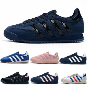 sapatas do esporte dos homens originais venda por atacado-Originals Dragon Clássico Originais Dragão Mens Running Shoes Preto Branco Azul Rosa Superstars s Das Mulheres Runner Sports Designer Shoe