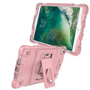 Kickstand Armor Hybrid Hard PC + Silicone Case Shockproof Heavy Duty Defender For Ipad Mini 5 1 2 3 4 IPad Mini 2019 Tablet Skin Cover 40pcs